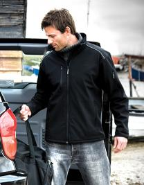Ripstop Soft Shell Workwear Jacket with Cordura Panels